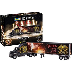 Queen Truck Tour 50th Anniversary 3D Puzzle