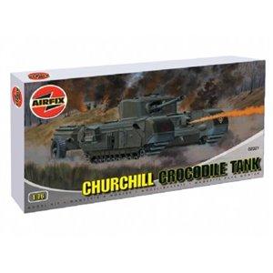 Churchill 'Crocodile' flame thrower 1/76