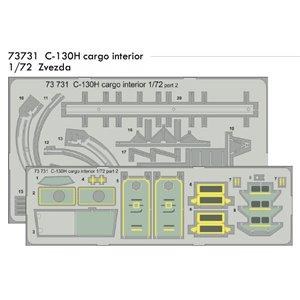 C-130H Hercules cargo interior 1/72