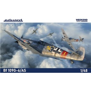 Bf-109G-6/AS Weekend edition 1/48
