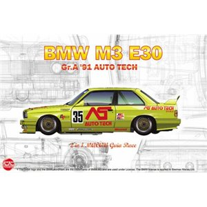 BMW M3 E30 Gr.A '91 AUTO TECH 1/24