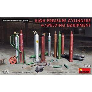 High Pressure Cylinders w/Welding Equipment 1/35