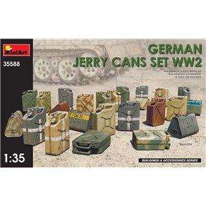 German Jerry Cans Set WW2 1/35