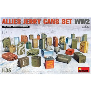 Allies Jerry Cans Set WW2 1/35