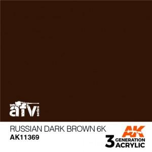 AK11369 RUSSIAN DARK BROWN...