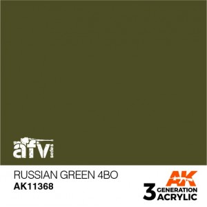 AK11368 RUSSIAN GREEN 4BO AFV