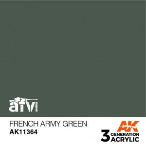 AK11364 FRENCH ARMY GREEN AFV
