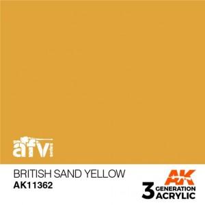 AK11362 BRITISH SAND YELLOW...
