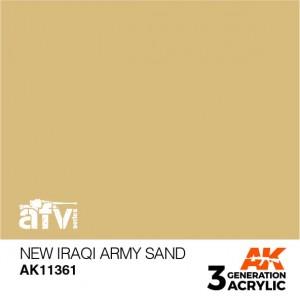 AK11361 NEW IRAQI ARMY SAND...