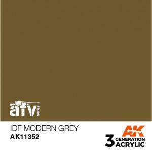 AK11352 IDF MODERN GREY AFV