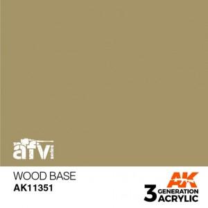AK11351 WOOD BASE AFV