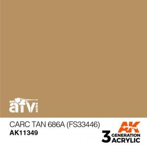 AK11349 CARC TAN 686A (FS...
