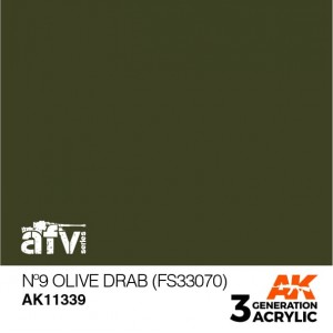 AK11339 Nº9 OLIVE DRAB (FS...