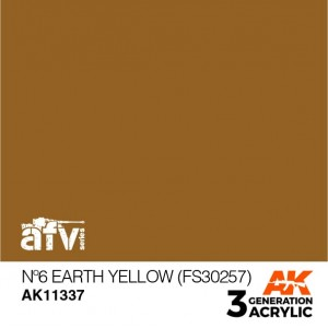 AK11337 Nº6 EARTH YELLOW...