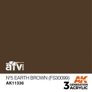 AK11336 Nº5 EARTH BROWN (FS...