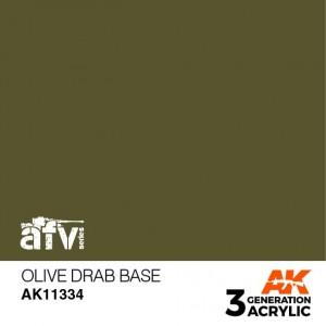 AK11334 OLIVE DRAB BASE AFV