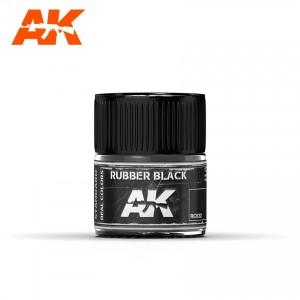 RC022 Rubber Black