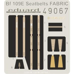 Bf-109E seatbelts FABRIC 1/48