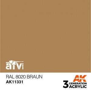 AK11331 RAL 8020 BRAUN AFV
