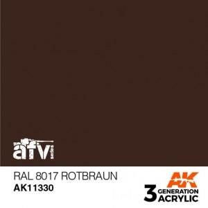 AK11330 RAL 8017 ROTBRAUN AFV