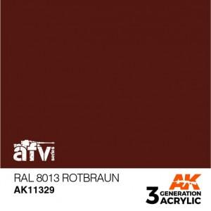 AK11329 RAL 8013 ROTBRAUN AFV