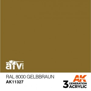 AK11327 RAL 8000 GELBBRAUN AFV