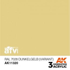 AK11320 RAL 7028 DUNKELGELB...
