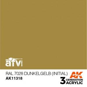 AK11318 RAL 7028 DUNKELGELB...