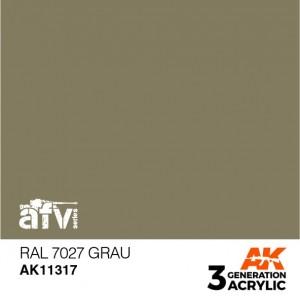 AK11317 RAL 7027 GRAU AFV
