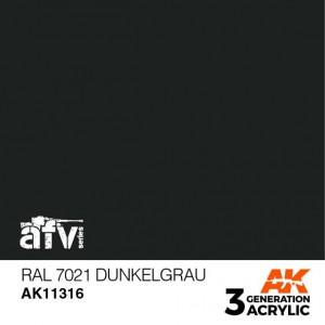 AK11316 RAL 7021 DUNKELGRAU...