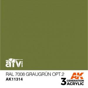 AK11314 RAL 7008 GRAUGRÜN...