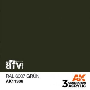 AK11308 RAL 6007 GRÜN AFV