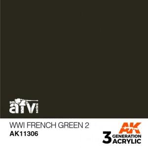 AK11306 WWI FRENCH GREEN 2 AFV