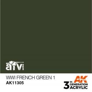 AK11305 WWI FRENCH GREEN 1 AFV
