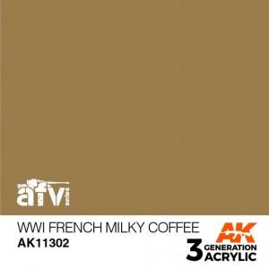 AK11302 WWI FRENCH MILKY...