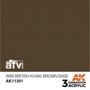 AK11301 WWI BRITISH KHAKI...