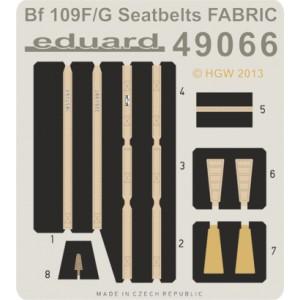 Bf109 F/G-6 seatbelts 1/48