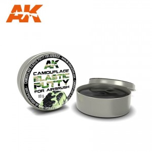 8076 CAMOUFLAGE ELASTIC PUTTY