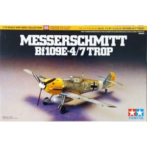 Bf-109 E-4/7 Trop 1/72